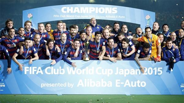 FC Barcelona Campeón del Mundo de Clubes 2015