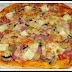 PIZZA ITALIANA CON PREHORNEADO Y MASA FINA