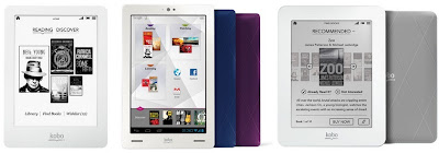 Kobo e-reader tablet