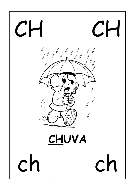 sílabas complexas ch