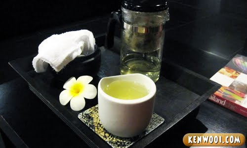 massage tea