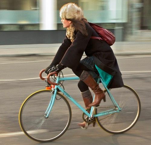 Pengendara Sepeda Di Italia