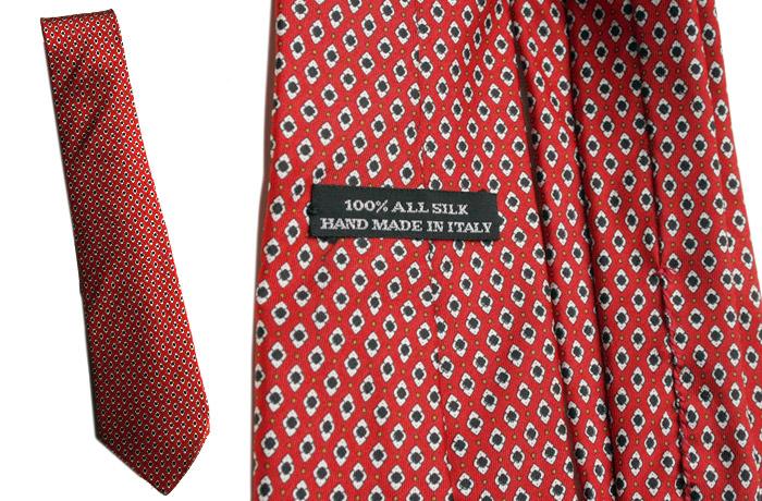 Red Italian tie