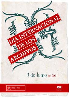 Cartel Día Internacional de Archivos