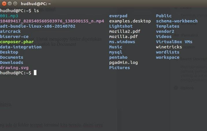 Perintah Dasar Linux Ubuntu untuk Pemula