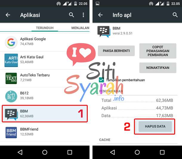 solusi android force close