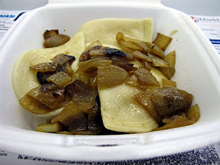 Side of Pierogi with Fried Onions
