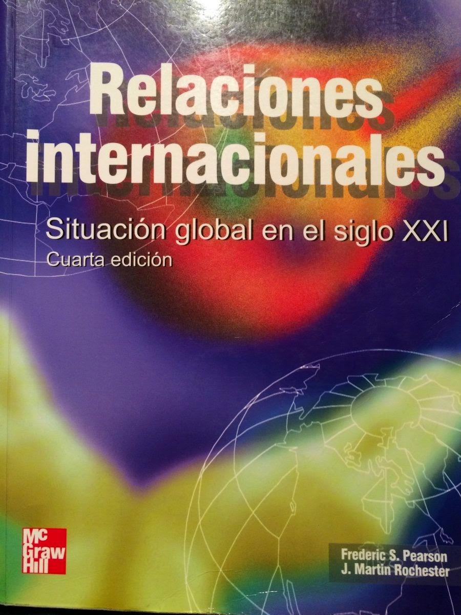 Relaciones Internacionales - Frederic Pearson