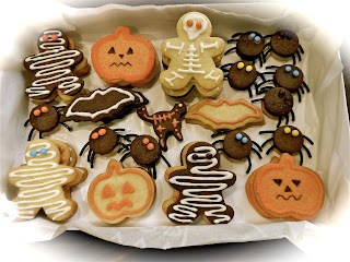 Galletas de Halloween Calabaza momia