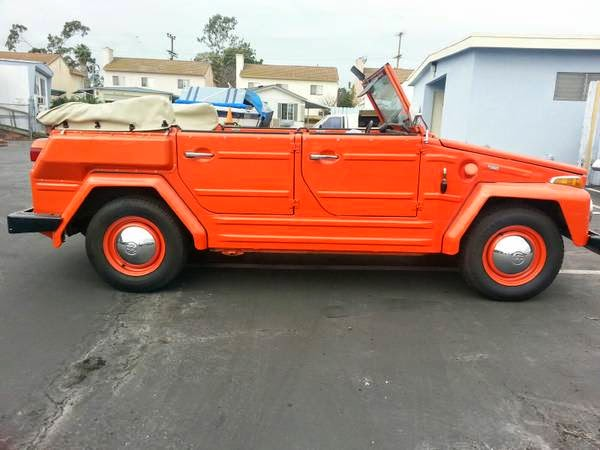 1974 vw thing type 181 for sale buy classic volks. Black Bedroom Furniture Sets. Home Design Ideas