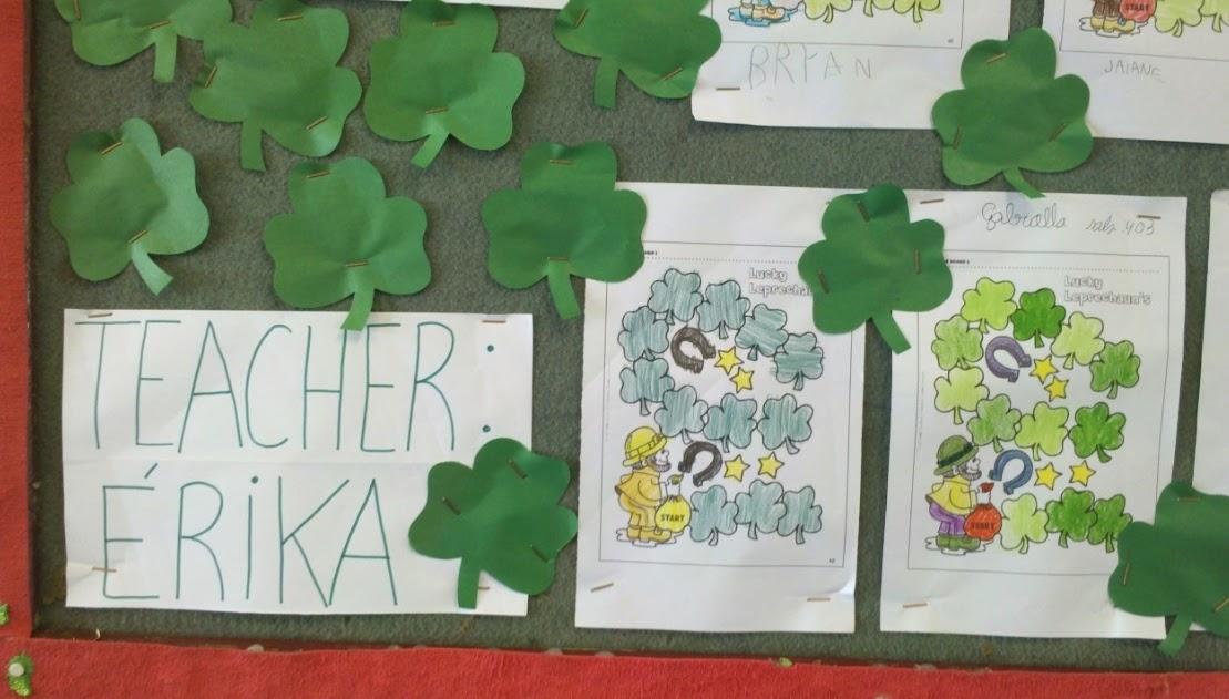 teacher st patrick's day musica
