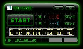 Inject Telkomsel Komet 25 Oktober 2015