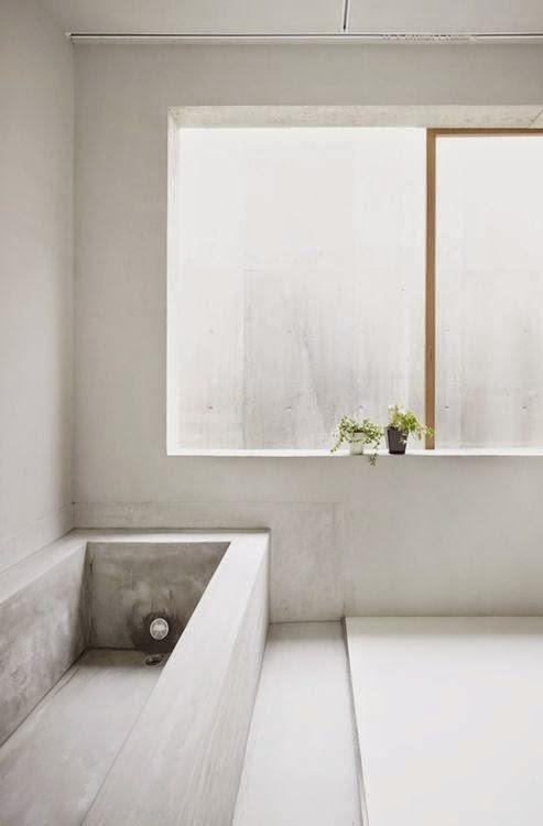 Bañera suelos y paredes en microcemento