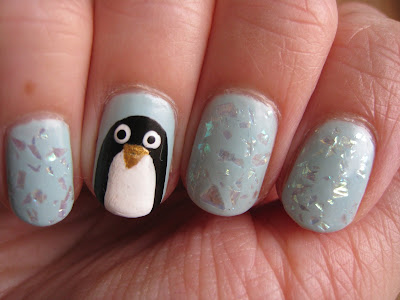 Barry-M-Model-Own-Penguins-Nail-Art