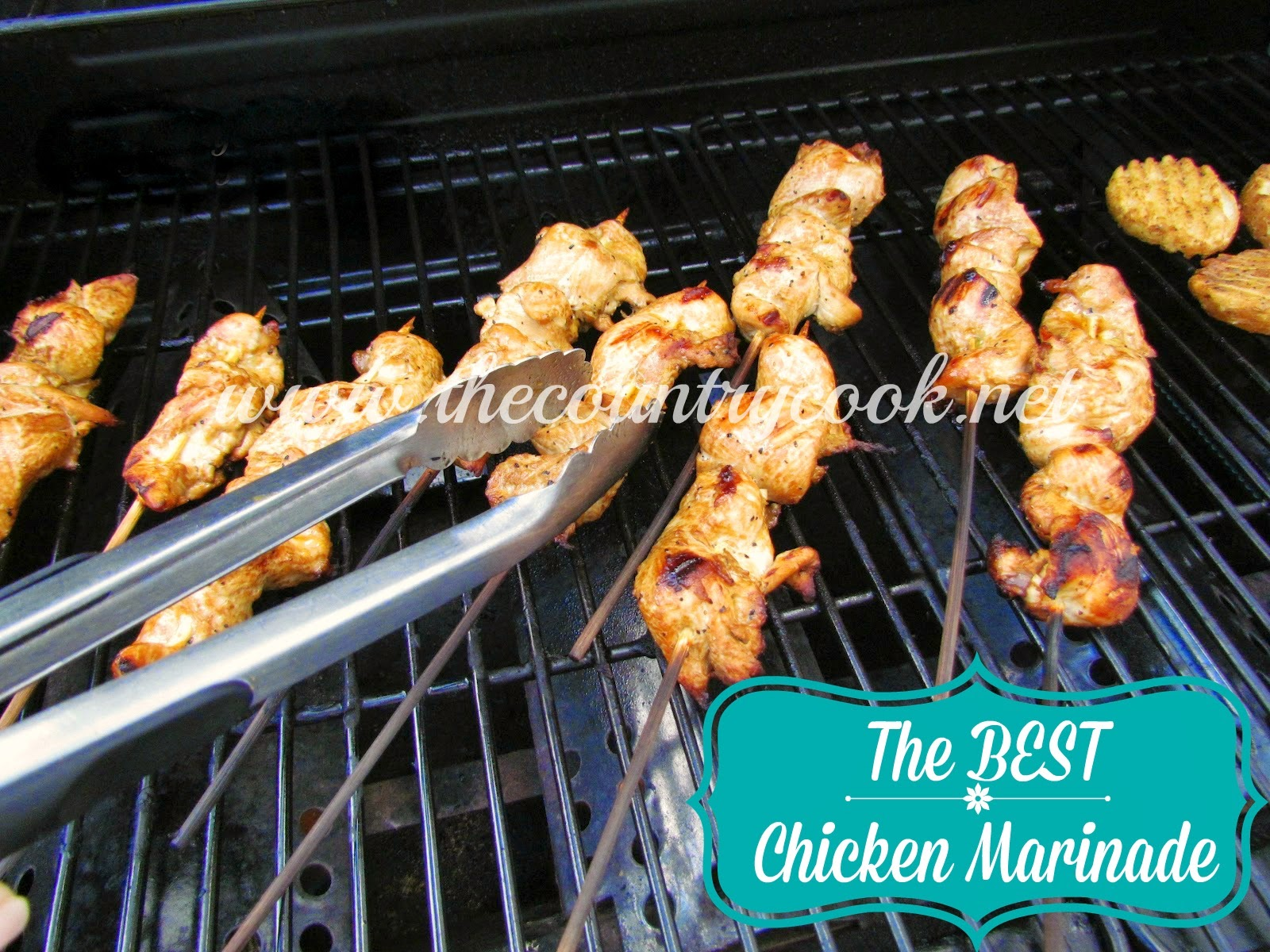 *BEST* Chicken Marinade