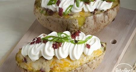 طريقة عمل البطاطا المخبوزة السهلة - فتافيت