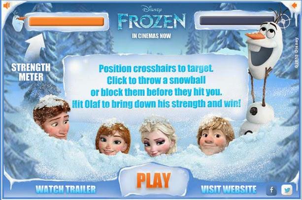 jugar juegos frozen