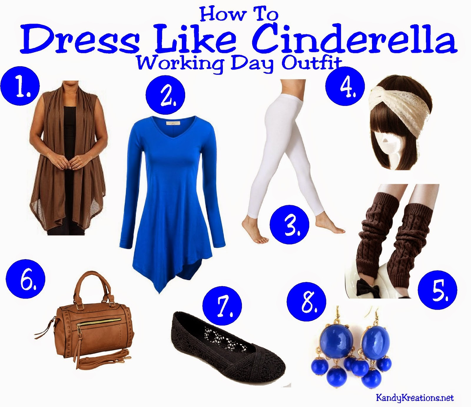 How to dress like Cinderella in her Work Outfit by KandyKreations