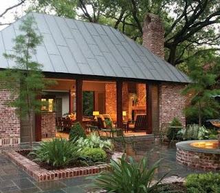 Fotos de techos techos modernos for Techos de tejas para patios exteriores