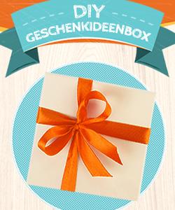 DIY Geschenkideenbox