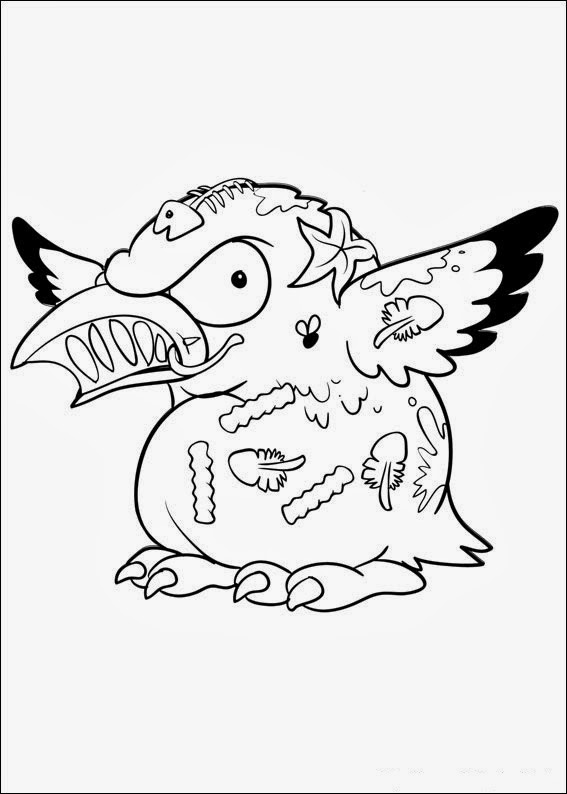 Fun Coloring Pages Trash Pack