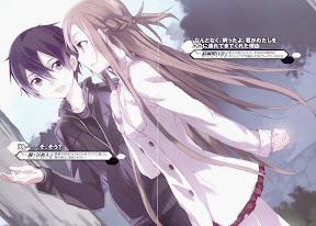 Sword Art Online Kirito Asuna and Kirito