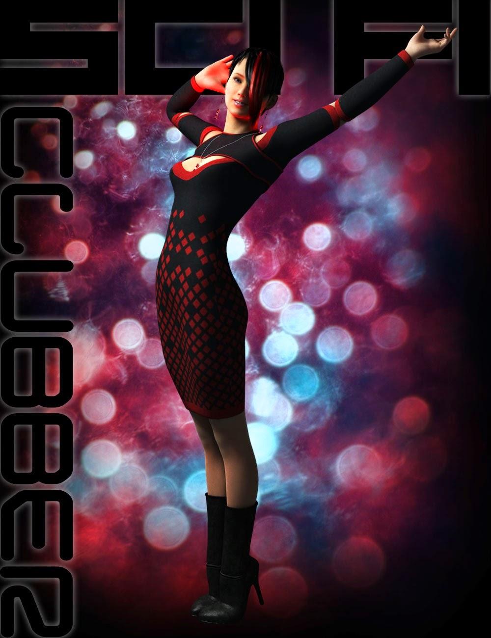 Sci-Clubber Outfit pour Genesis 2 Femme