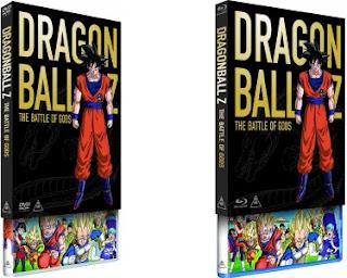 DVD e Blu-ray DBZ: Battle of Gods