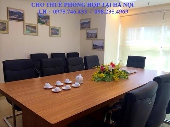 phòng họp cho 12 người tại hà nội