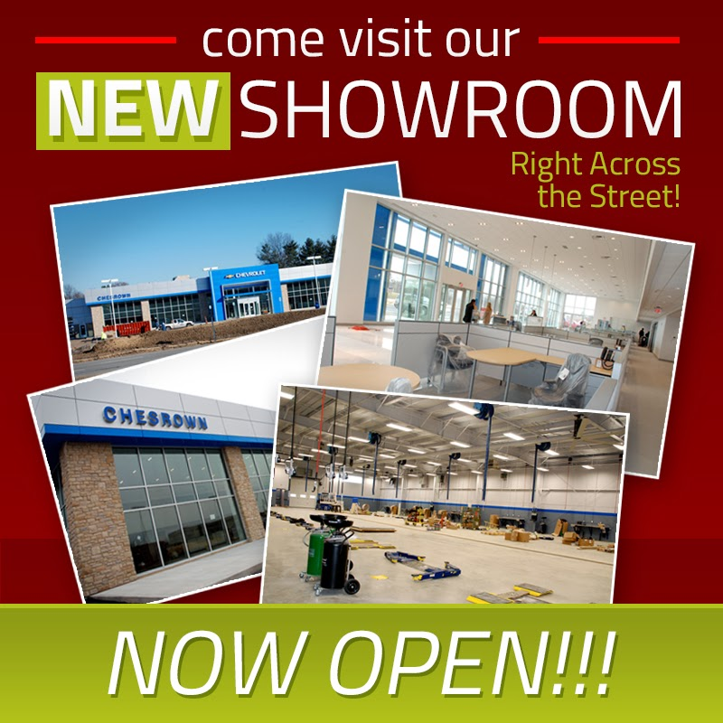New Chesrown Chevrolet Buick GMC Building Open!