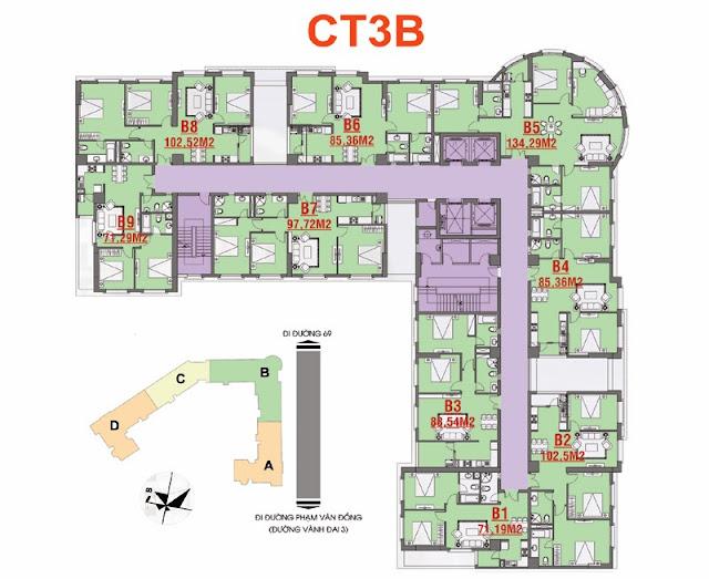 Thiết kế CT3B Cổ Nhuế