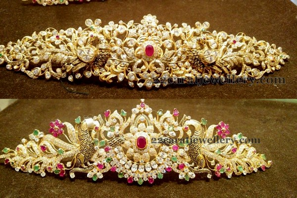75 Grams Floral Vaddanam Designs