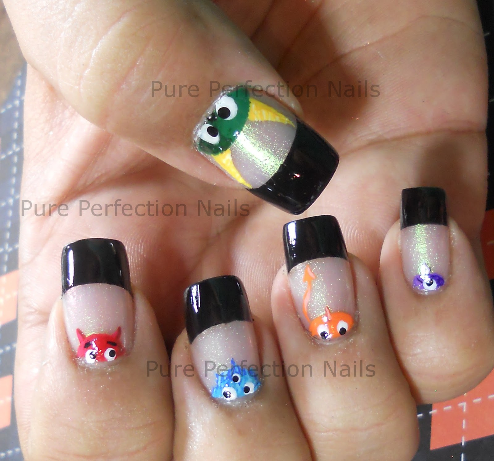 Pure Perfection Nails: Halloween Nail Art \