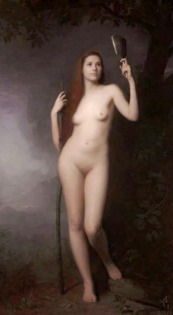 retratos de-mujeres-al-oleo