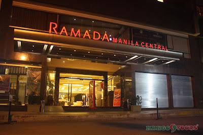 Mango Tours Ramada Manila Central Facade
