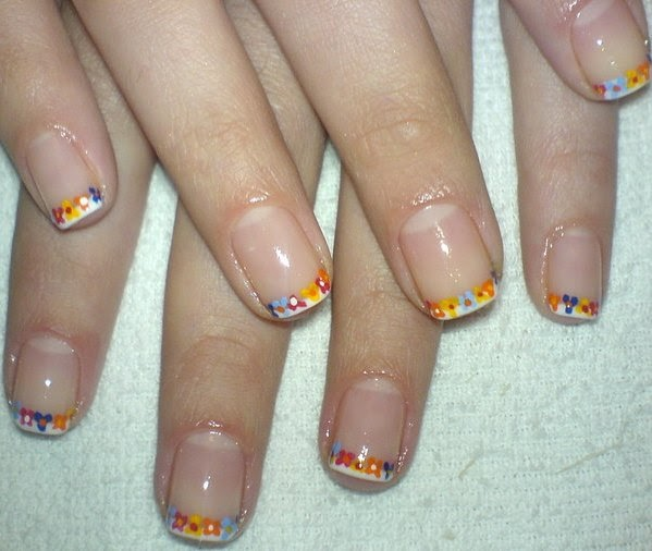 Simple Nail Art For Short Nails: Easy Nail Designs For Short Nails 2012