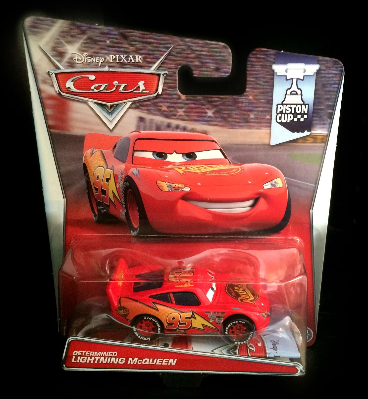 Dan The Pixar Fan Cars Determined Lightning Mcqueen