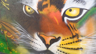Mural de jaguar