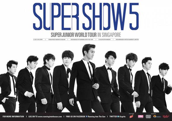 Super Junior lập kỉ lục mới với tour diễn Super Show 1