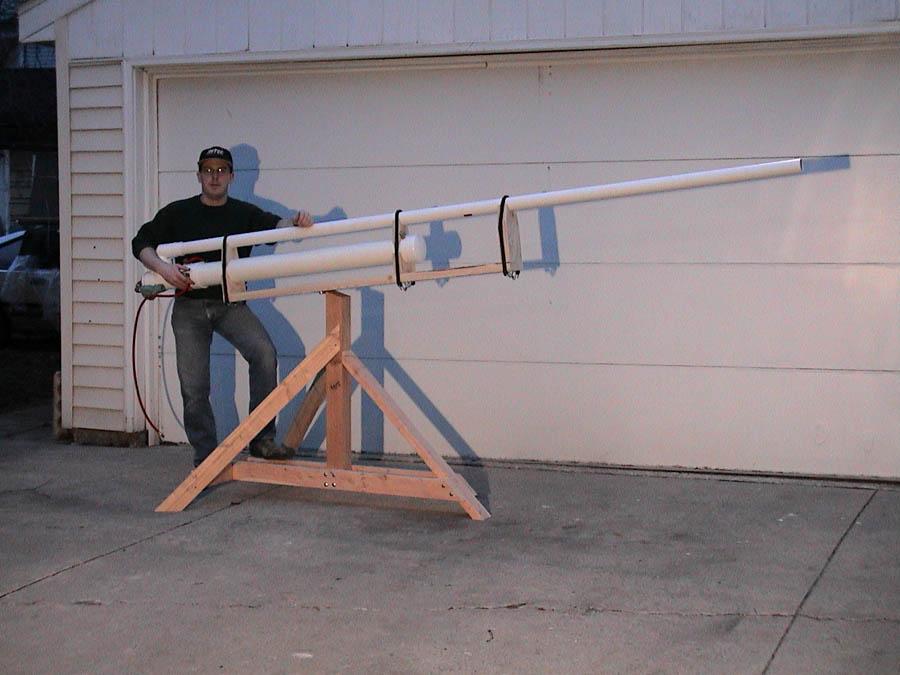 August 2012 Potato Spud Cannon Gun