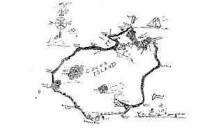 Mapa Isla del Coco