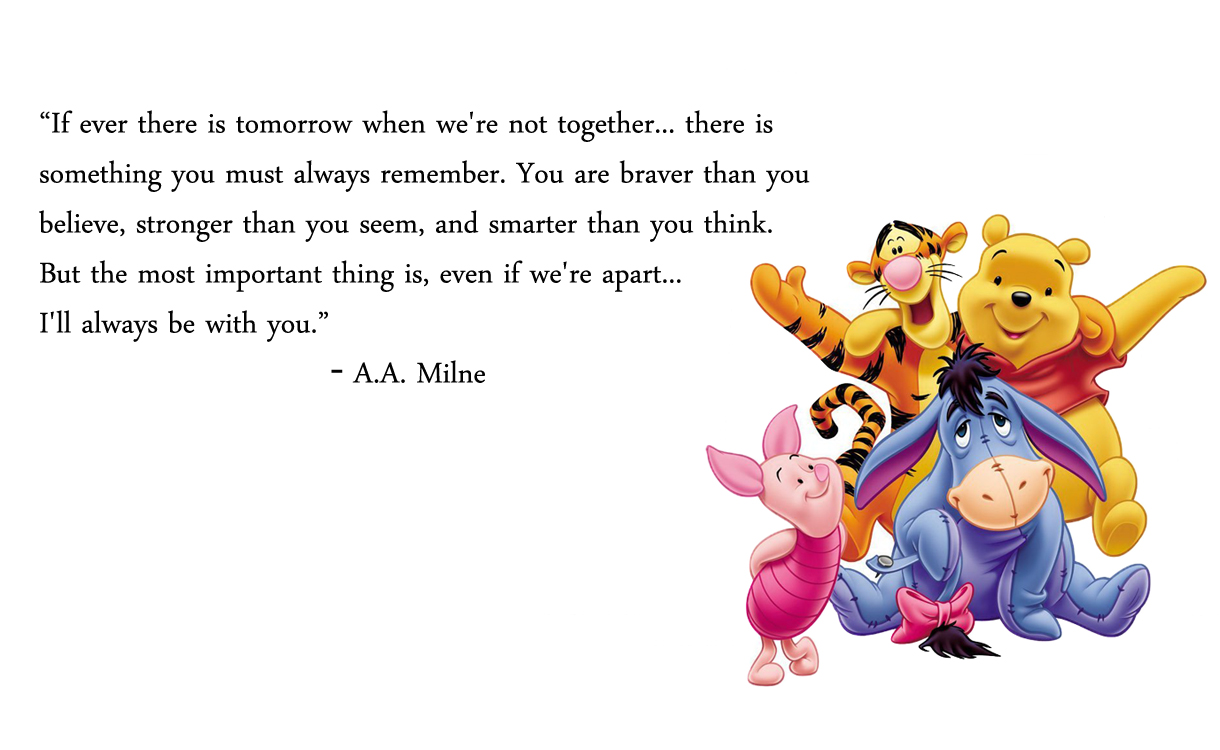 Quotes From Winnie The Pooh About Friendship Simple My Scribbling Winnie The Pooh  Friendships