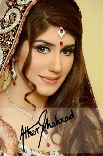 Ather Shahzad Wedding Makeup | Bridal Party Makeover For Walima - Clothing9Store.pk