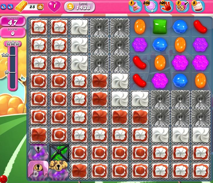 Candy Crush Saga 1438