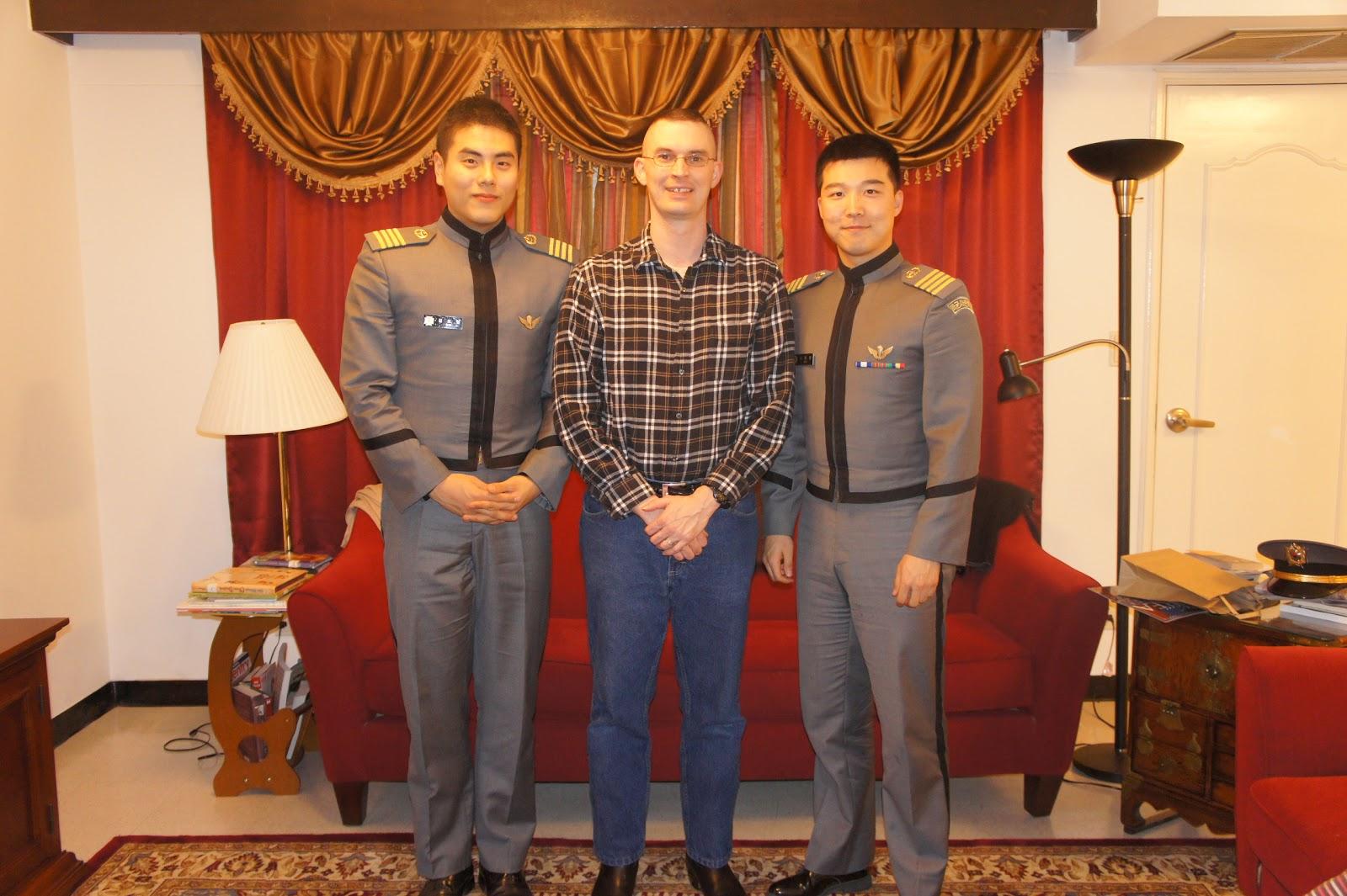 LIFE ON 'THE PENN': Korea Military Academy Cadet Dinner