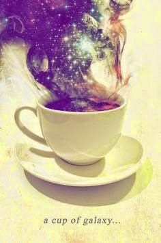 Special Menu For Today; A Cup Of Galaxy