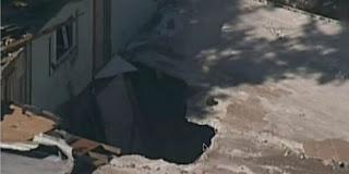 Sinkhole di Negara Bagian Florida, Amerika Serikat