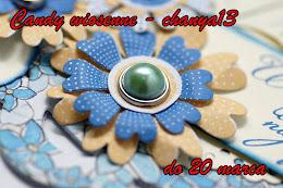 Wyróżnienie w Candy u Chanya13- DZIĘKUJĘ :)