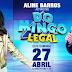 "Aline Barros participará do programa ""Domingo Legal"""