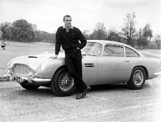 El coche de Sean Connery